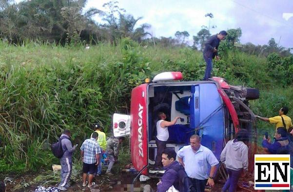 accidente bus santo domingo quevedo