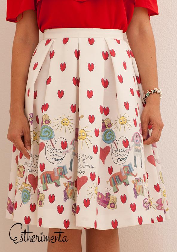 falda personalizada por estherimenta
