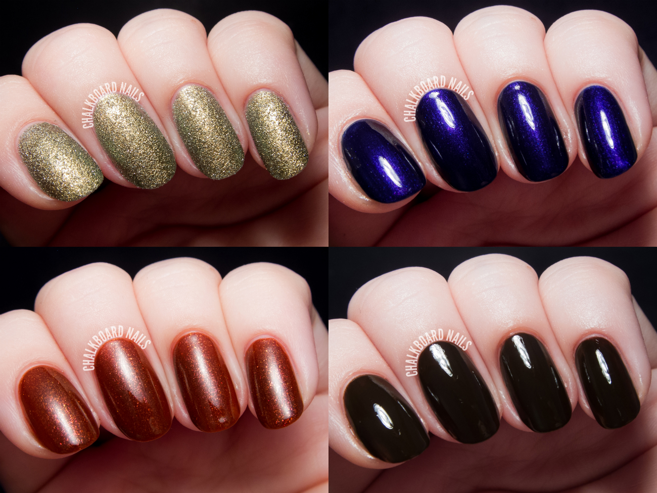 Dermelect Bejeweled Collection for Fall 2014 via @chalkboardnails