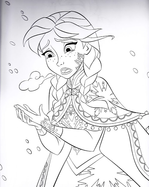 Images About Disneys Frozen Colouring Pages On Pinterest