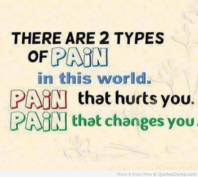 Pain And Life Quotes: Qaseh Ku..: WORDLESS WEDNESDAY : TWO TYPES OF PAIN