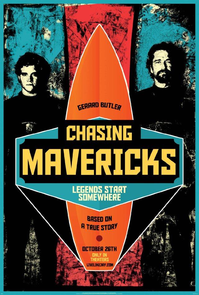 Chasing Mavericks Trailer: Chasing Mavericks Movie Poster
