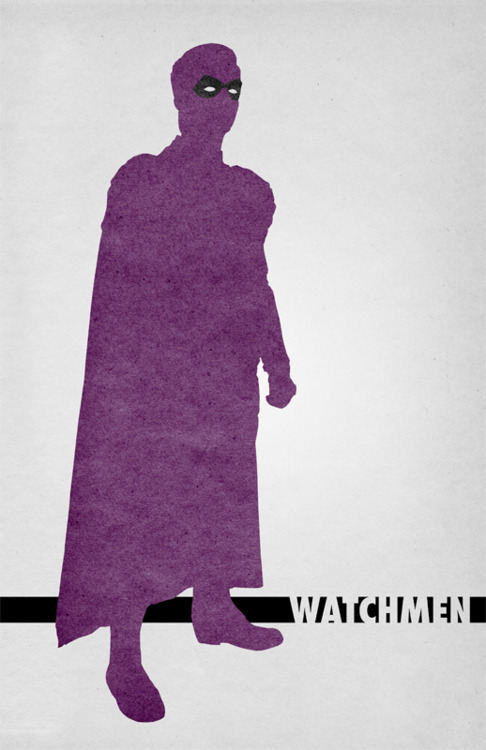 Travis English. The Bear Jedi. Watchmen Poster Series
