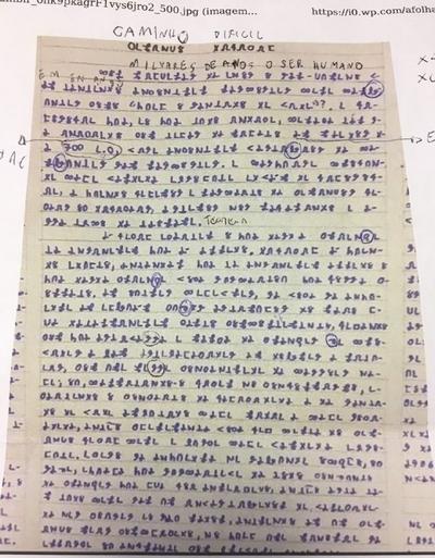 Hacker revela página escrita por jovem que sumiu no Acre
