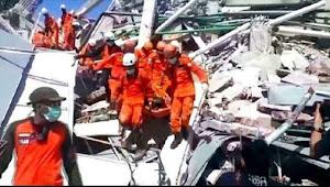 Korban Gempa Bumi dan Tsunami Sulteng Capai 1203 Orang