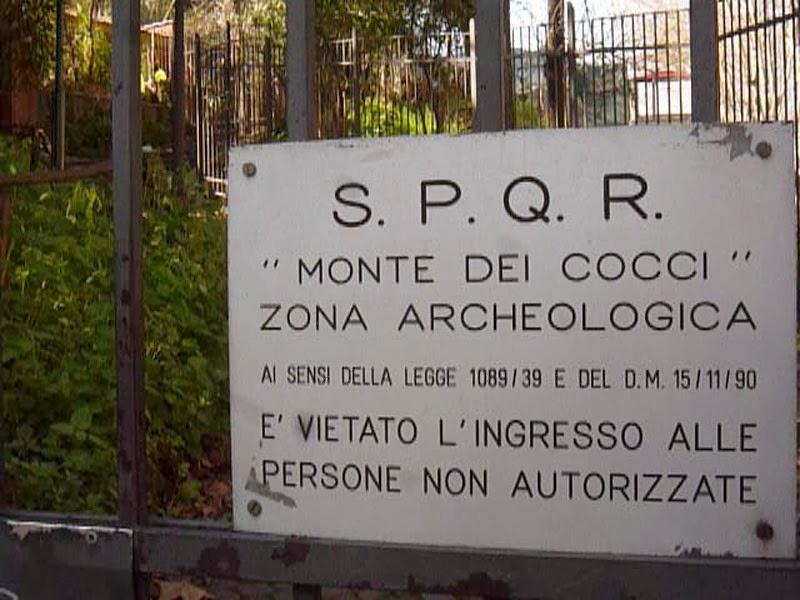 Área arqueológica de Testaccio em Roma