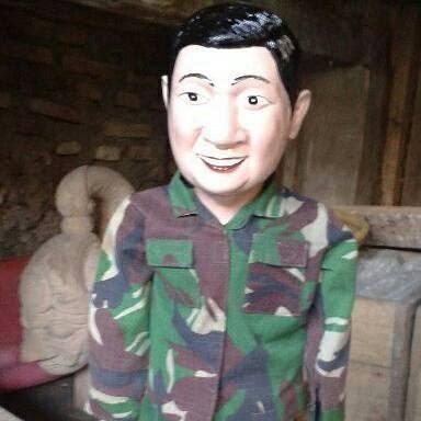 wayang golek custom karakter wajah : jasa pembuatan & pengrajin wayang golek