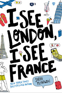 I see London, I see France, book, contemporary, romance, travel, Sarah Mylnowski