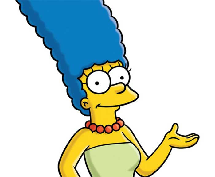 Marge Simpson hairstyl