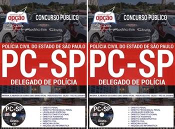 apostila concurso PC-SP DELEGADO DE POLÍCIA DP1