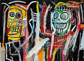 Jean-Michel Basquiat, Dustheads, 1982.