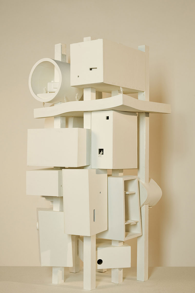 Surreal architectural models by bureau spectacular for Bureau spectacular