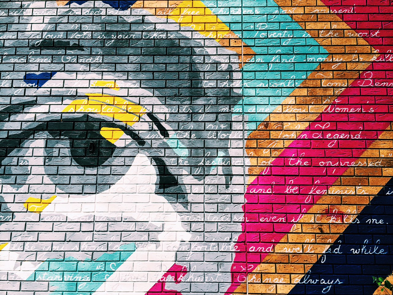 London Wall Art the thing i have with walls & floors | top ten places for london