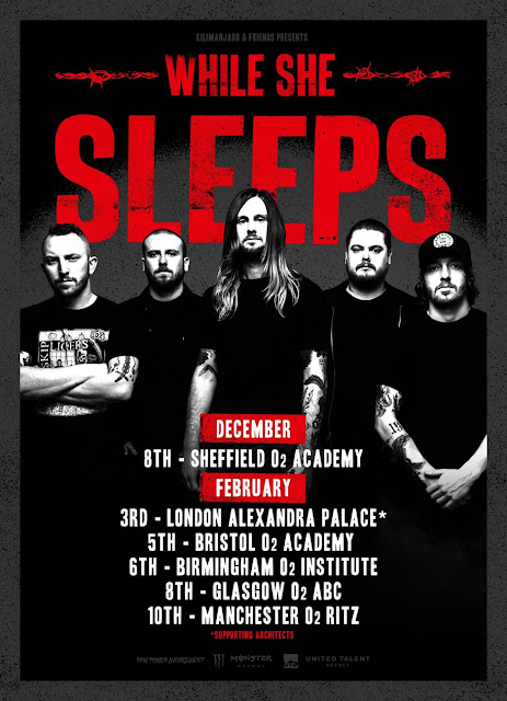 While She Sleeps at The Ritz 2018
