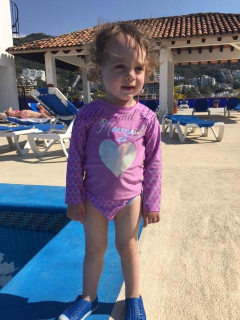 Target toddler swimwear in Mexico
