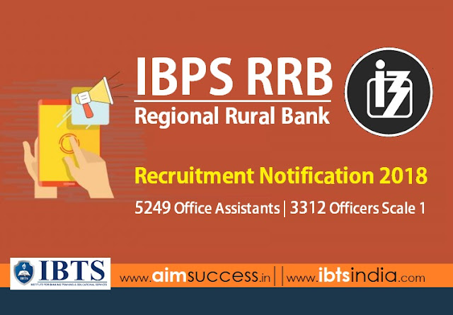 IBPS RRB 2018 Notification Out