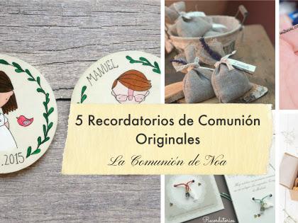 5 recordatorios de Comunión originales