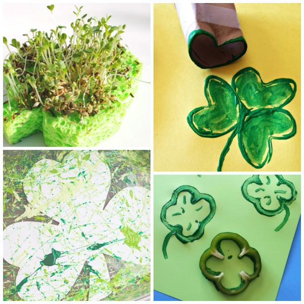 Shamrock Crafts For Kids Growing A Jeweled Rose