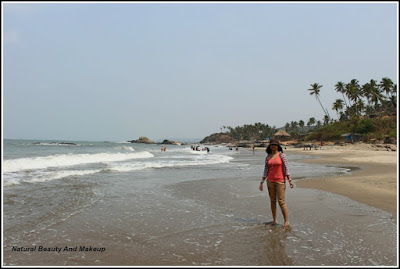 Ozran or Little Vagator Beach, North Goa