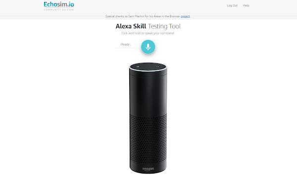 家庭小精靈下凡!用瀏覽器即可體驗亞馬遜 Echo 裝置的虛擬助手 Alexa