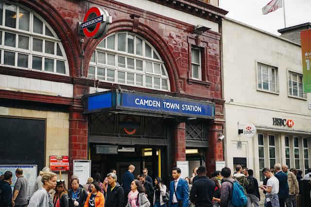 カムデン・タウン駅(Camden Town tube station)