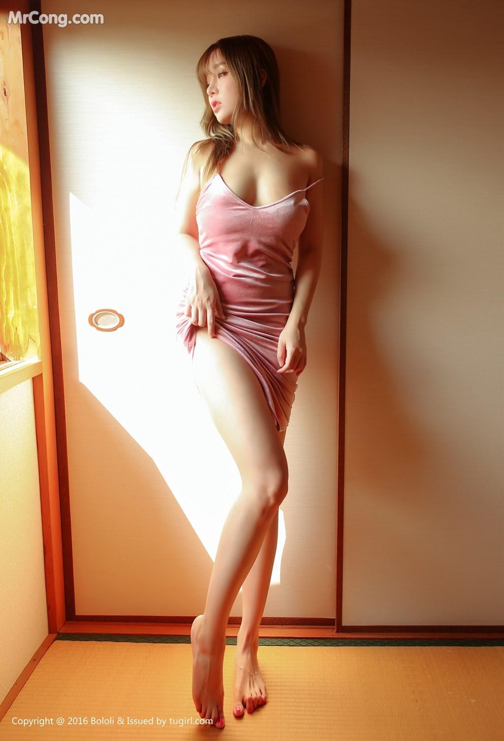 Gambar: BoLoli-2017-08-14-Vol.102-Wang-Yu-Chun-MrCong.com-030 dalam posting BoLoli 2017-08-14 Vol.102: Model Wang Yu Chun (王 雨 纯) (49 foto)