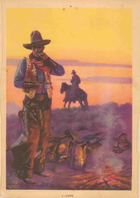Gayle Hoskins - A Cowboy's Day #1 Dawn