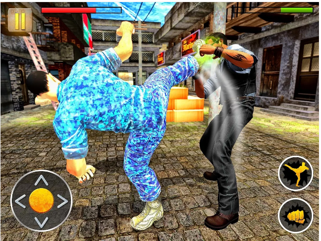 Angry Mafia Fighter Attack 3D (Game Action Android Keren)