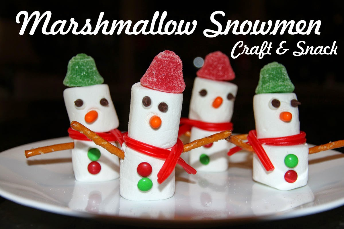Marshmallow Snowmen by Christianity Cove