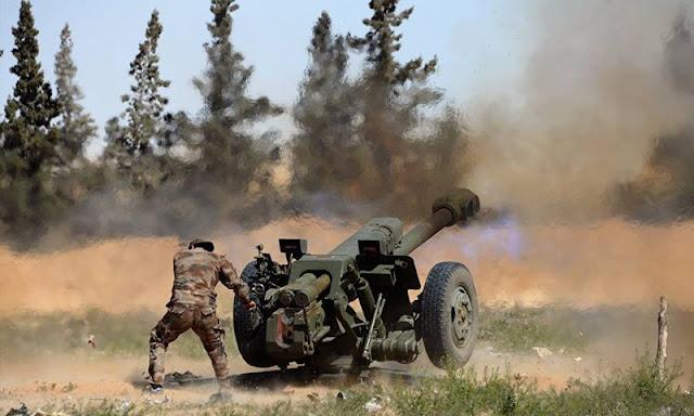 الدفاع الروسية: الجيش السوري يصد هجوما للنصرة على مواقع عسكرية في جنوب
