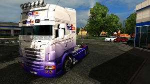 FedEx paint job for Scania RJL by EviL