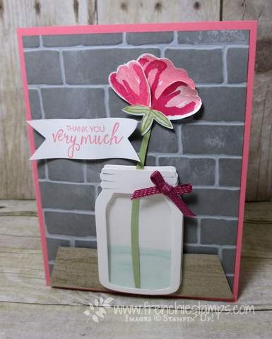 Jar of Love, Bunch of Blossoms, Stampin'Up!