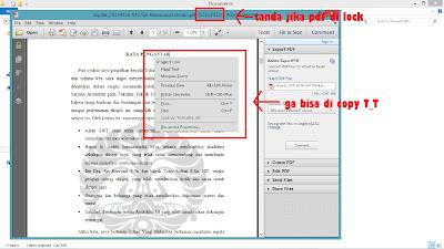 Cara membuka proteksi file pdf yang terkunci (SECURED)