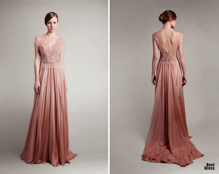 Modelos de vestidos largos para fiesta