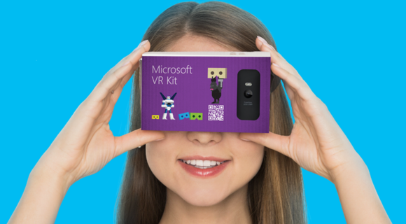 微軟也加入VR大戰?! 翻版Cardboard現身俄羅斯活動網站