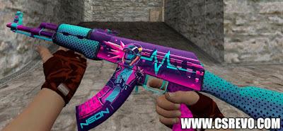 Skin AK47 - Neon Rider IV - HD CS 1.6, skins, ak 47