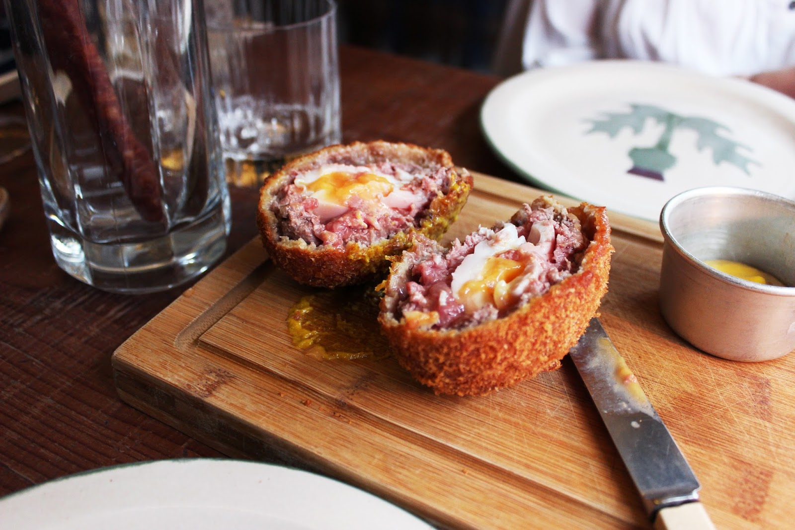 Mac and Wild restaurant review - venison scotch egg