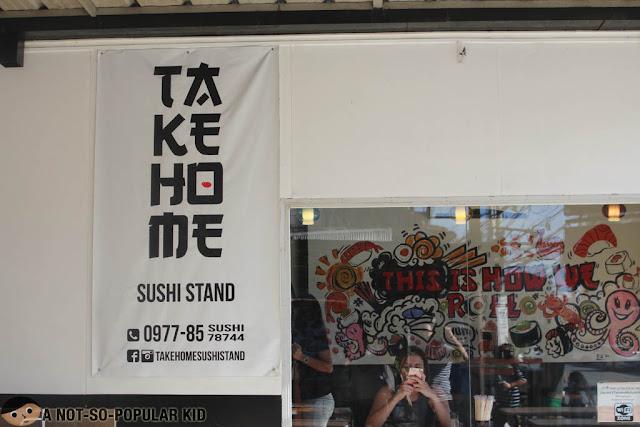 Ta Ke Ho Me Sushi Stand in Tomas Morato