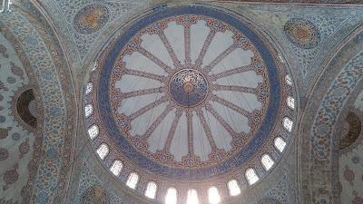 Sultanahmet Camii Ana kubbe