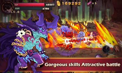 Brave Fighter:Demon Revenge Apk v2.1.0 Mod Free Android