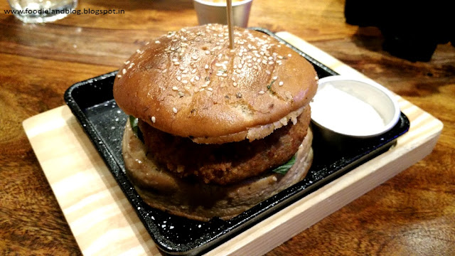 Shroom Melt Burger @ The Irish are now in Bellandur | Bangalore