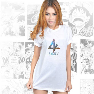 Jual Kaos FaLiLV Band Fear and Loathing in Las Vegas