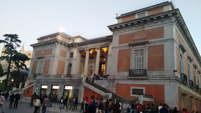 Museo del Prado. Puerta de Goya. Taquillas