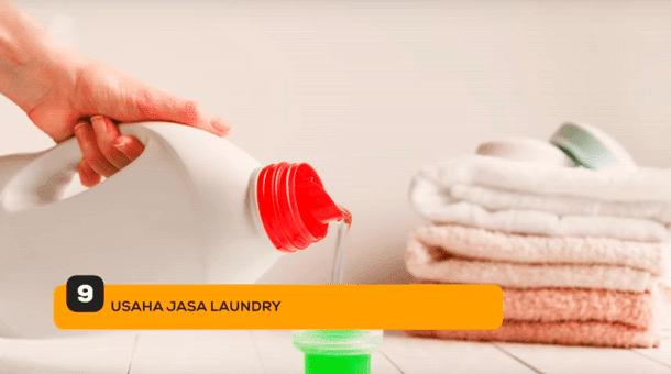 9. Usaha Jasa Laundry