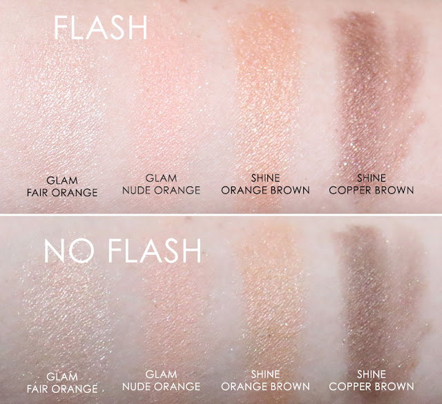 PONY X MEMEBOX- PONY SHINE EASY GLAM 3 EYESHADOW #03 ORANGE BLOOM