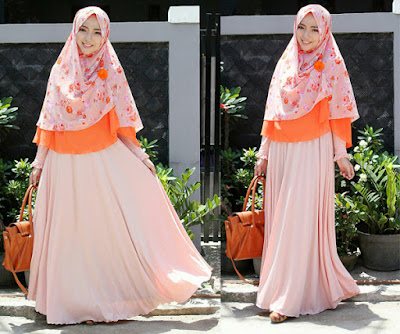 Trend fahion hijab dengan hijab syar'i