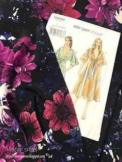 Vogue 9253 Pattern Cover on Sharon Sews blog
