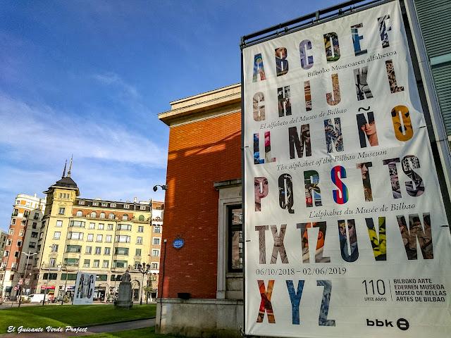 Alfabeto del Museo de Bellas Artes de Bilbao por El Guisante Verde Project