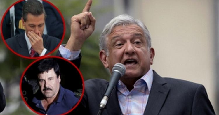 """Piden que Peña y AMLO revisen caso de PF presos por fuga de """"El Chapo""""."""