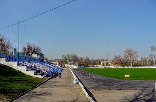 Новомосковськ. Стадіон «Металург»
